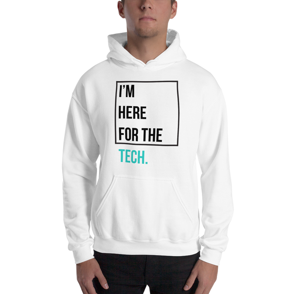 I'm here for the tech (Zilliqa) - Men's Hoodie