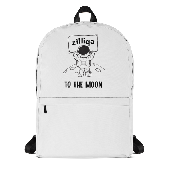 Zilliqa to the moon - Backpack