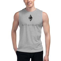 Ethereum logo – Men's Muscle Shirt