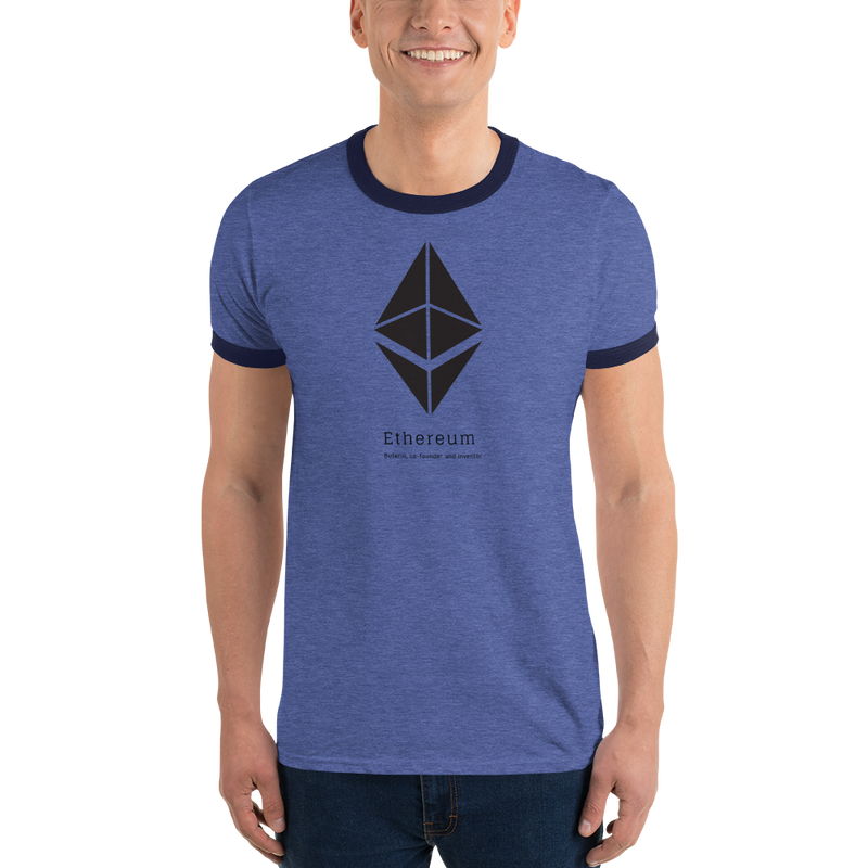 Buterin, co-founder and inventor - Men's Ringer T-Shirt