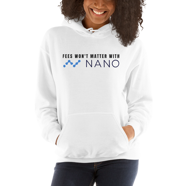 Fees won't matter with Nano – Women's Hoodie