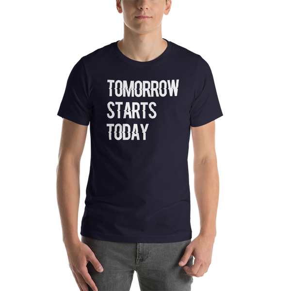 Tomorrow starts today (Zilliqa) - Men's Premium T-Shirt