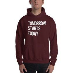 Tomorrow starts today (Zilliqa) – Men's Hoodie