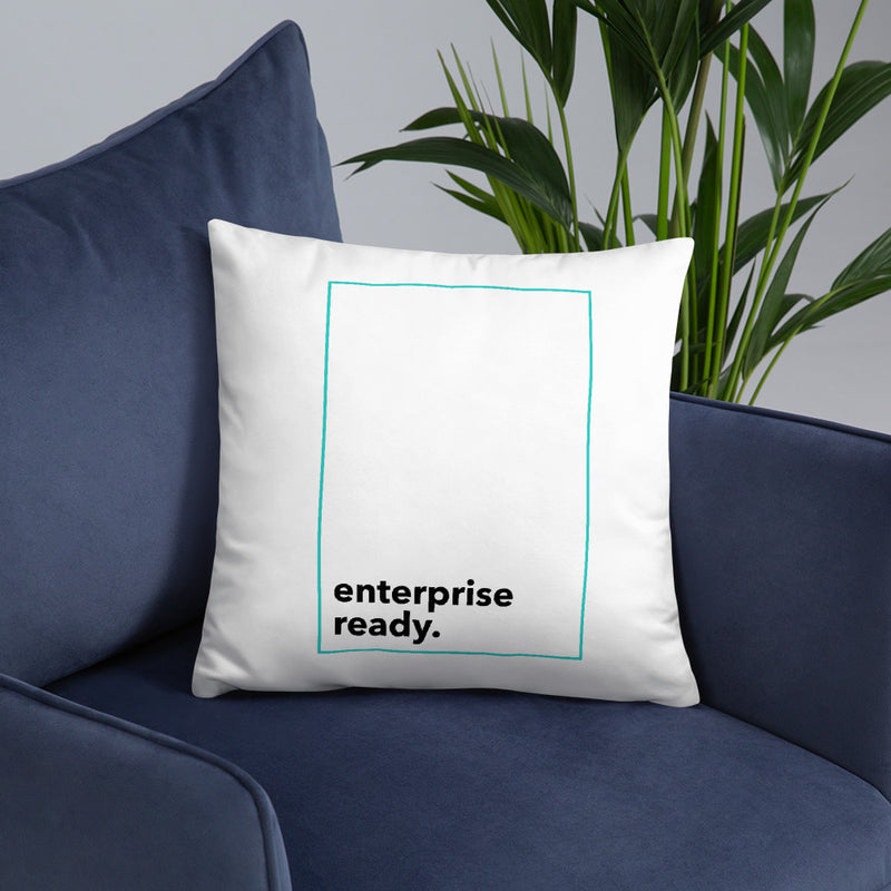 Enterprise Ready (Zilliqa) - Pillow