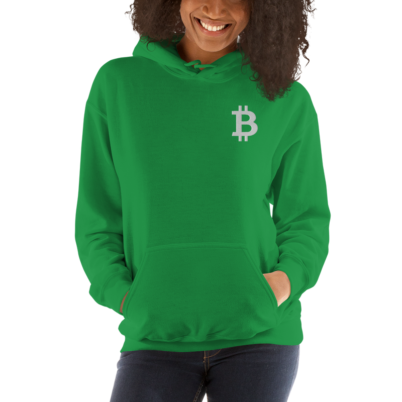 Bitcoin – Women's Embroidered Hoodie