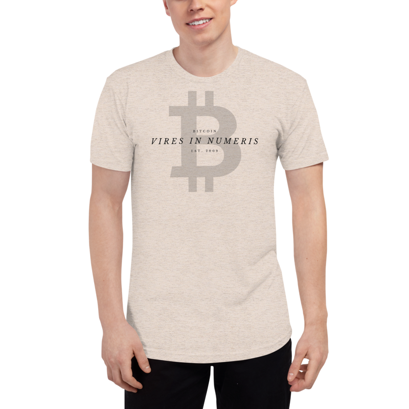 Vires in numeris (Bitcoin) - Men's Track Shirt