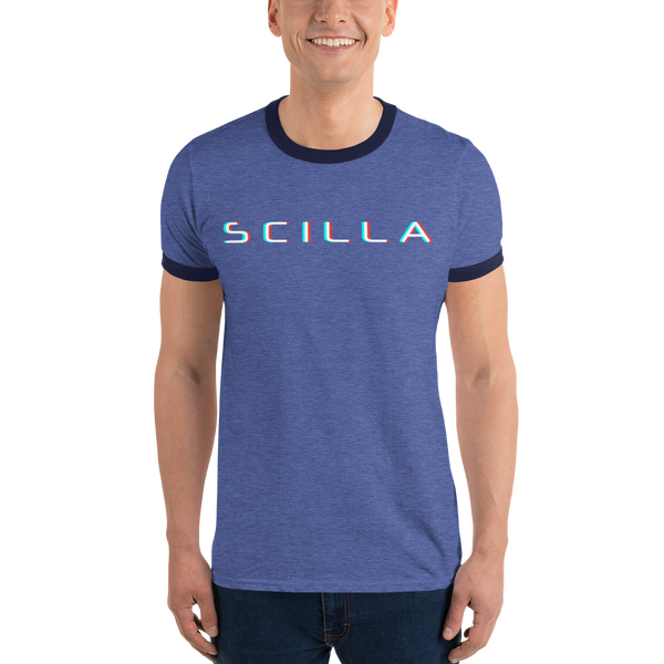 Scilla – Men's Ringer T-Shirt