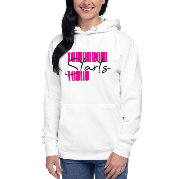 Tomorrow starts today (Zilliqa) – Women's Pullover Hoodie