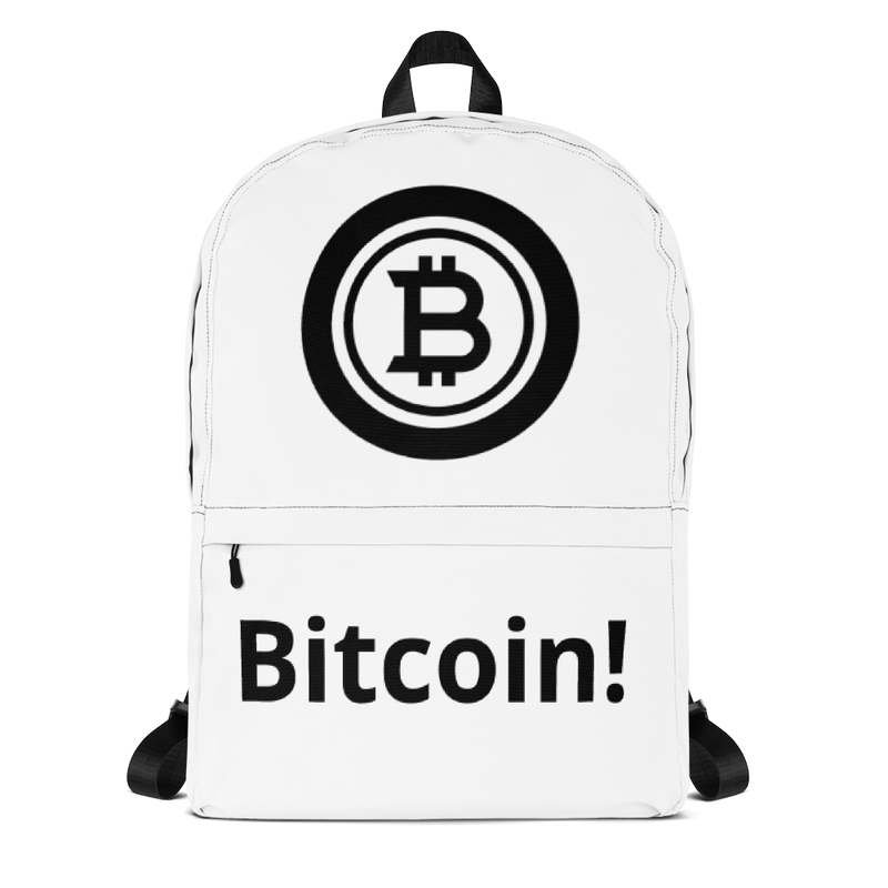 Bitcoin black - Backpack