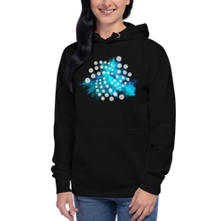 Iota color cloud – Women's Pullover Hoodie