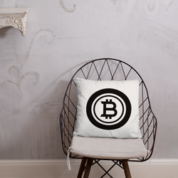 Bitcoin black - Pillow