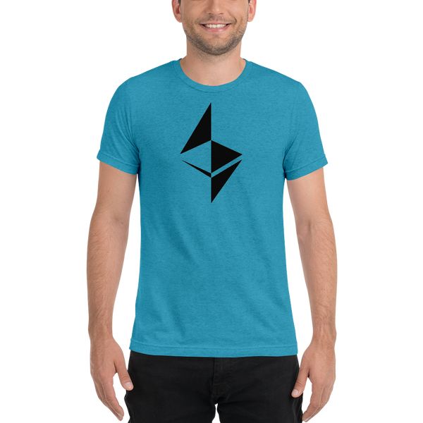 Ethereum surface design - Men's Tri-Blend T-Shirt