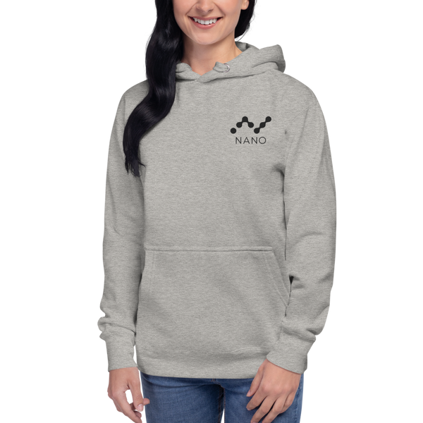 Nano – Women's Embroidered Pullover Hoodie