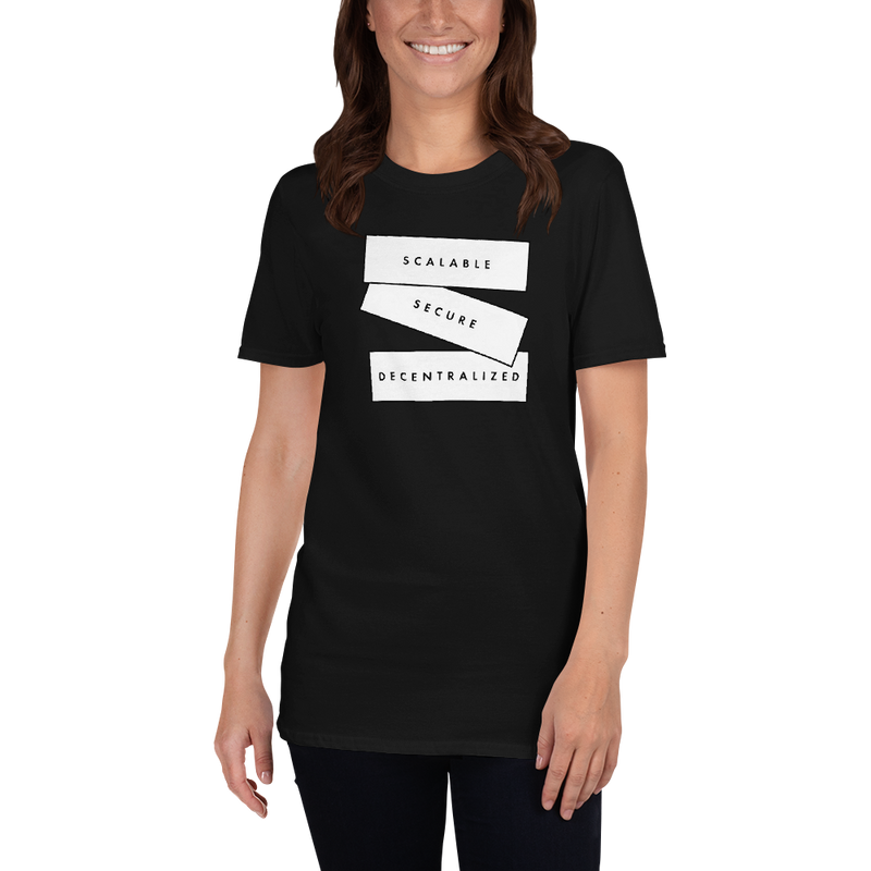 Scalable, secure decentralized (Zilliqa) – Women's T-Shirt