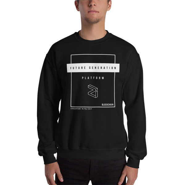 Future Generation (Zilliqa) – Men's Crewneck Sweatshirt