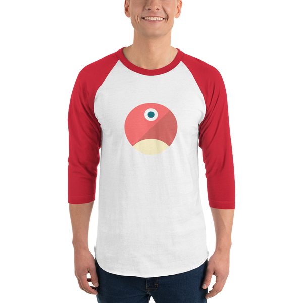 pTokens 3/4 sleeve raglan shirt
