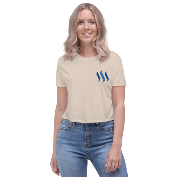 Steem - Women's Crop Tee
