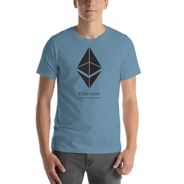 Buterin, co-founder and inventor - Men's Premium T-Shirt