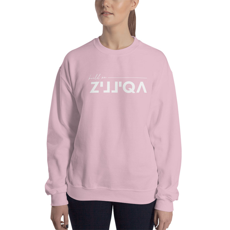 Build on Zilliqa – Women's Crewneck Sweatshirt