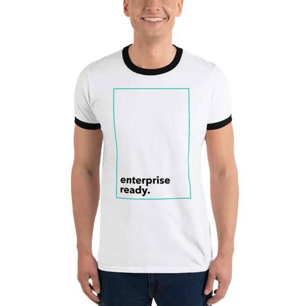 Enterprise Ready (Zilliqa) - Men's Ringer T-Shirt