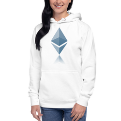 Ethereum reflection – Women's Pullover Hoodie