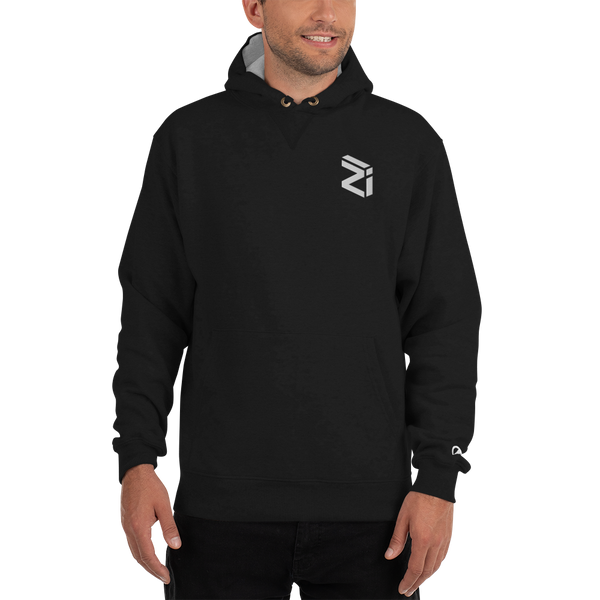 Zilliqa – Men's Embroidered Premium Hoodie