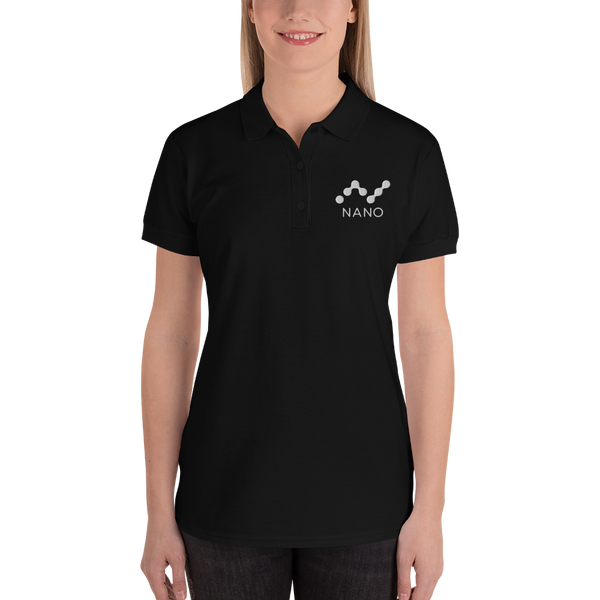 Nano - Women's Embroidered Polo Shirt