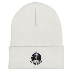 Ethereum to the moon - Cuffed Beanie