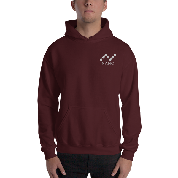 Nano – Men's Embroidered Hoodie