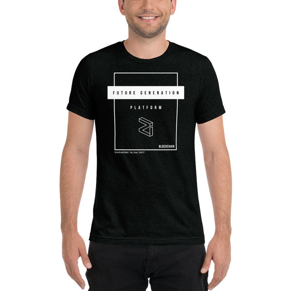 Future Generation (Zilliqa) - Men's Tri-Blend T-Shirt