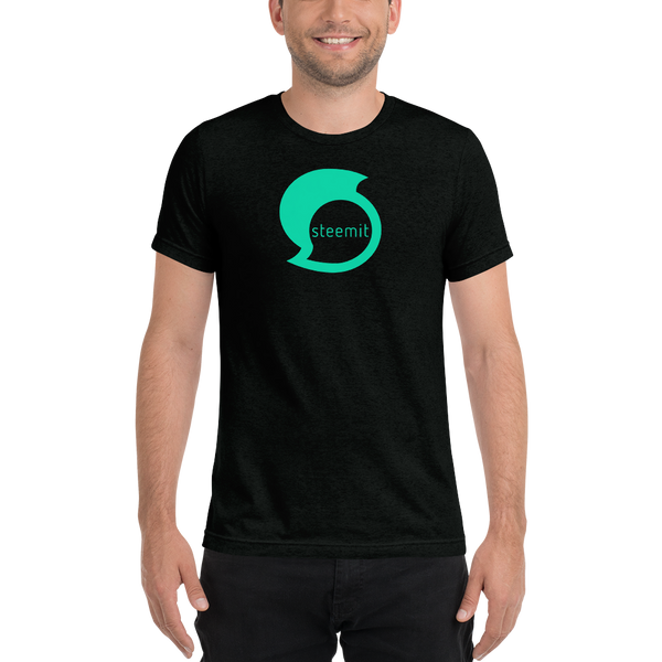 Steemit – Men's Tri-Blend T-Shirt