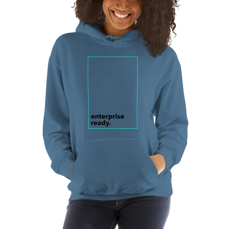 Enterprise ready (Zilliqa) – Women's Hoodie