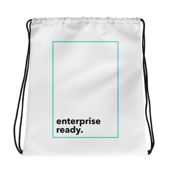 Enterprise Ready (Zilliqa) - Drawstring Bag