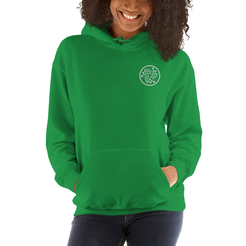 Iota logo – Women's Embroidered Hoodie