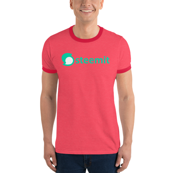 Steemit – Men's Ringer T-Shirt