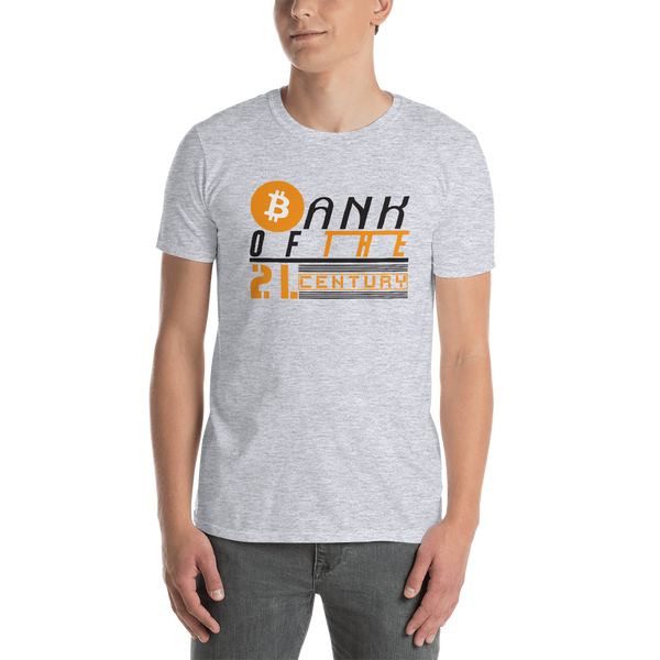 Bank of the 21. century - Men's T-Shirt