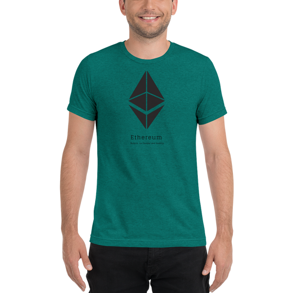Buterin, co-founder and inventor - Men's Tri-Blend T-Shirt