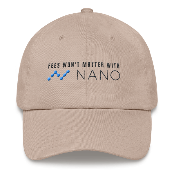 Fees won't matter with nano - Baseball Cap