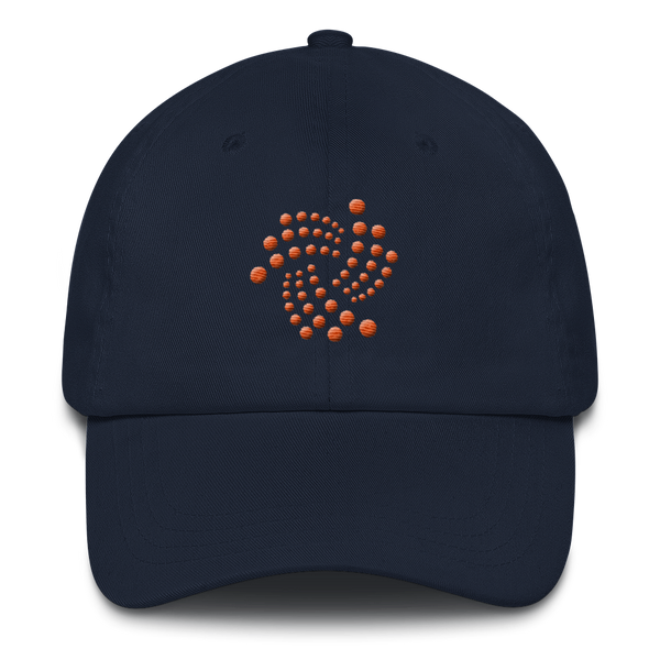 Iota floating design (Orange) - Baseball Cap