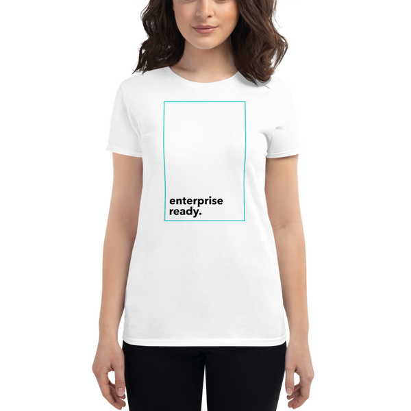 Enterprise ready (Zilliqa) – Women's Short Sleeve T-Shirt