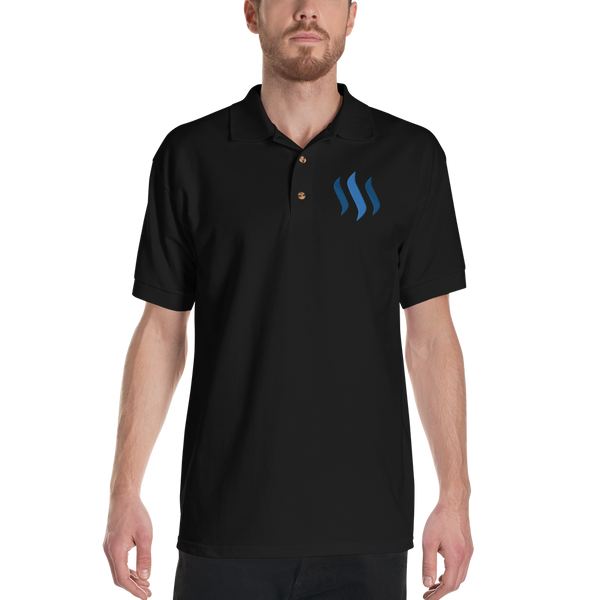 Steem – Men's Embroidered Polo Shirt