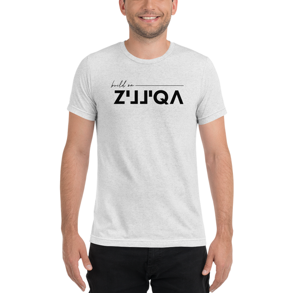 Build on Zilliqa - Men's Tri-Blend T-Shirt