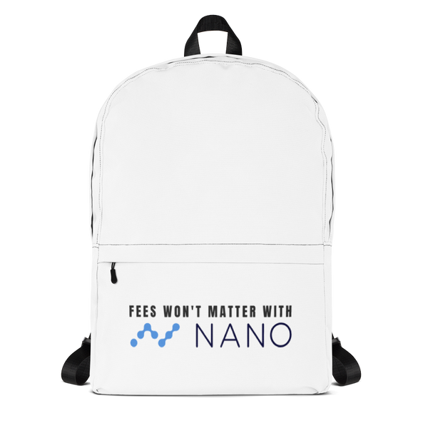 Fees won't matter with nano - Backpack