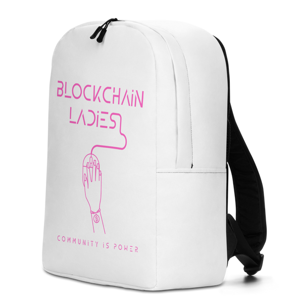 Blockchain Ladies Backpack