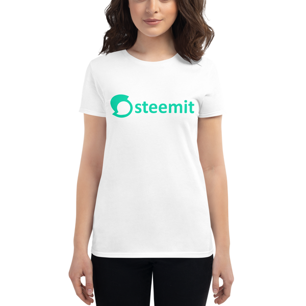 Steemit - Women's Short Sleeve T-Shirt