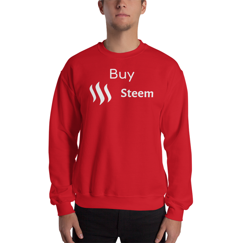 Buy Steem – Men's Crewneck Sweatshirt