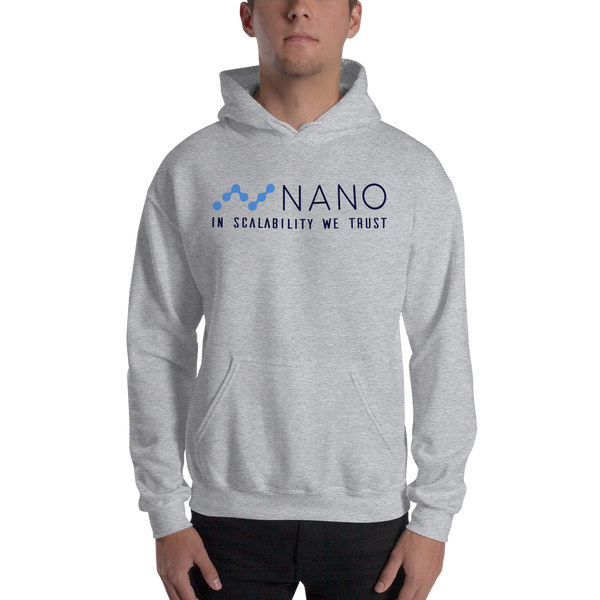 Nano, in scalability we trust – Men's Hoodie
