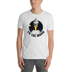 Ethereum to the moon - Men's T-Shirt