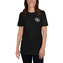 Steem - Women's Embroidered T-Shirt