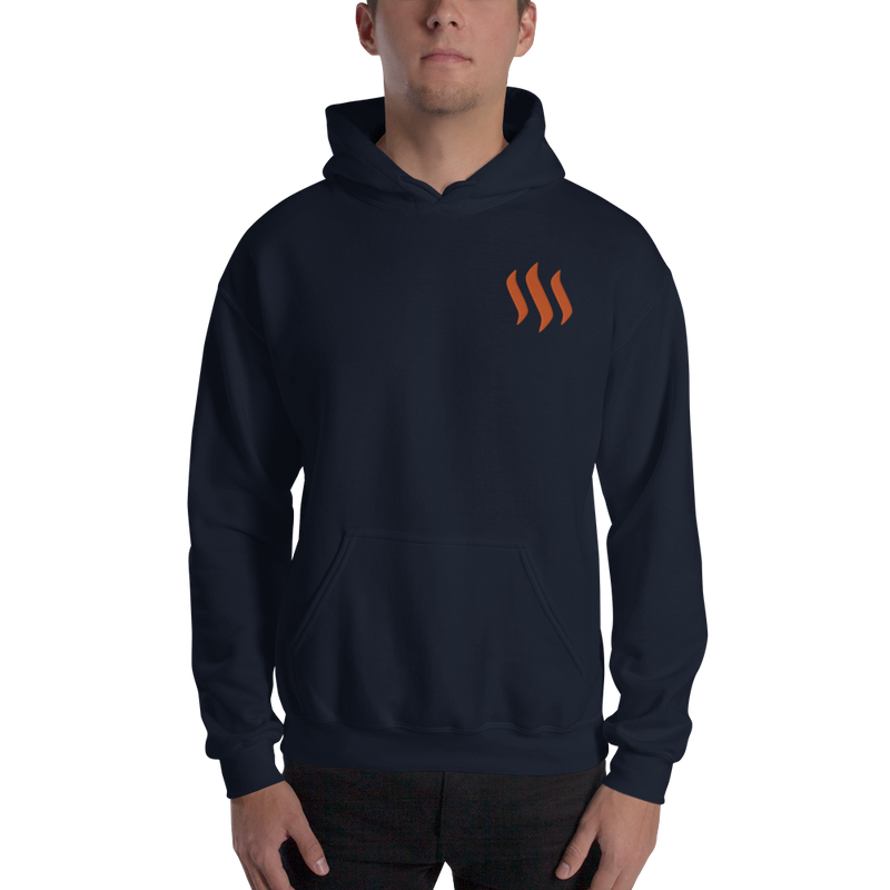 Steem – Men's Embroidered Hoodie